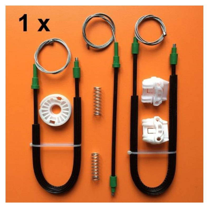 For FORVW Golf & Bora Mk4 Electric Window Regulator Repair Kit Front Left & Right97-06