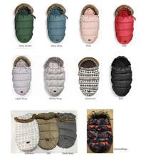 Baby Sleeping Bag Infant Winter stroller footmuff thick Warm Wheelchair Envelope Sleepsacks Original Brand stroller sleeping bag все цены