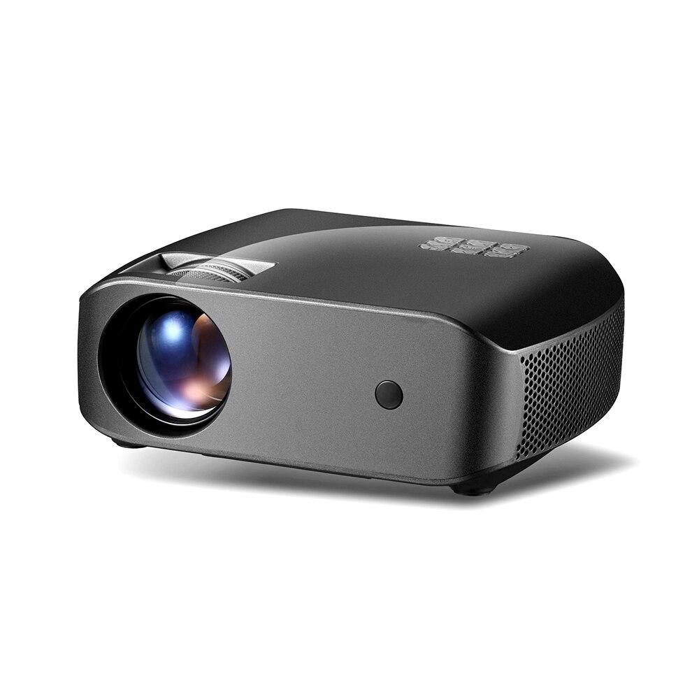 LCD 3D Mini Projektor F10 WIFI bluetooth Full HD Projektor 2800 Lumen 1280*720P Lautsprecher Heimkino Projektoren 10000:1