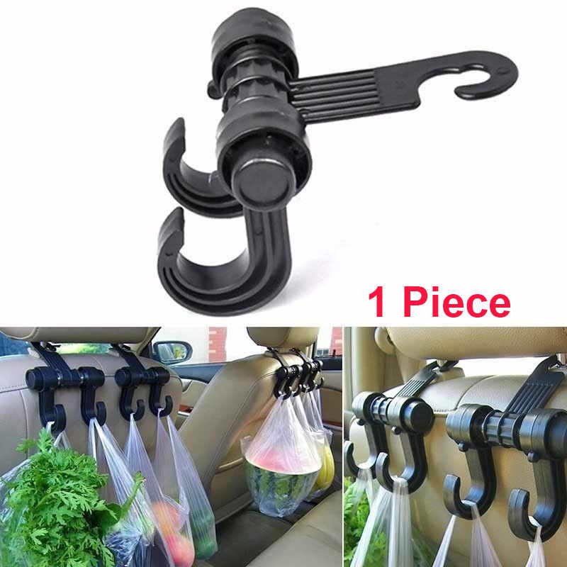 1Piece Car Seat Back Storage Hook Sundries Hanger Bag Holder Car Organizer Universal Multifunction Car-Styling Car Seat Hook