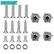 Dsycar хромированный металлический land force пентаграмма логотип