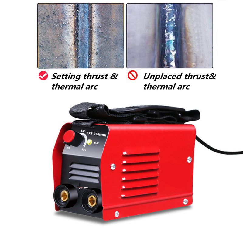 Tools : 1 PC ARC IGBT Inverter Arc Electric Welding Machine 220V 250A MMA Welders for Welding Working Electric Working Power Tools