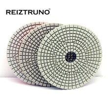 Алмазные полировальные колодки reiztruno 3 ступенчатые для мрамора