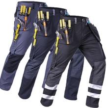 Cargo pants mens casual Working pants fashion pantalon homme streetwear trousers 2020 Hi Vis Outdoor work pants size M-4XL