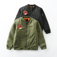 Baby Boys Jacket Cardigan 2019 Spring Autumn Camouflage Zipper Coats Army Childrens Windbreaker Outerwear Children Clothing