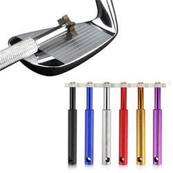 Гольф-заточка для клюшки с 6 головками очиститель идеальный инструмент для повторной обработки канавок для очистки крепкий клиновидный