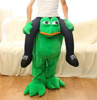 Funny Frog False Leg Ride On Mascot Fancy Dress Party Costume Funny Pants Halloween Xmas Party Dress