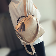 Retro Leather Women Backpack Zipper Fashion School Bag Backpacks for Teenagers Girls Multifunction Mochila Feminina Shoulder Bag