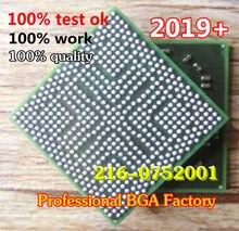 Dc: 2019 + 100% testado produto muito bom 216-0752001 216 0752001 80% novo bga com bolas