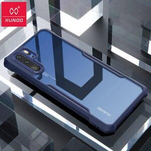 Image 1 - Voor Huawei P30 Pro Case Xundd Silicon Airbags Shockproof Telefoon Cover Funda Voor Huawei P40 Pro Case Bedrijvengids Cover Чехол
