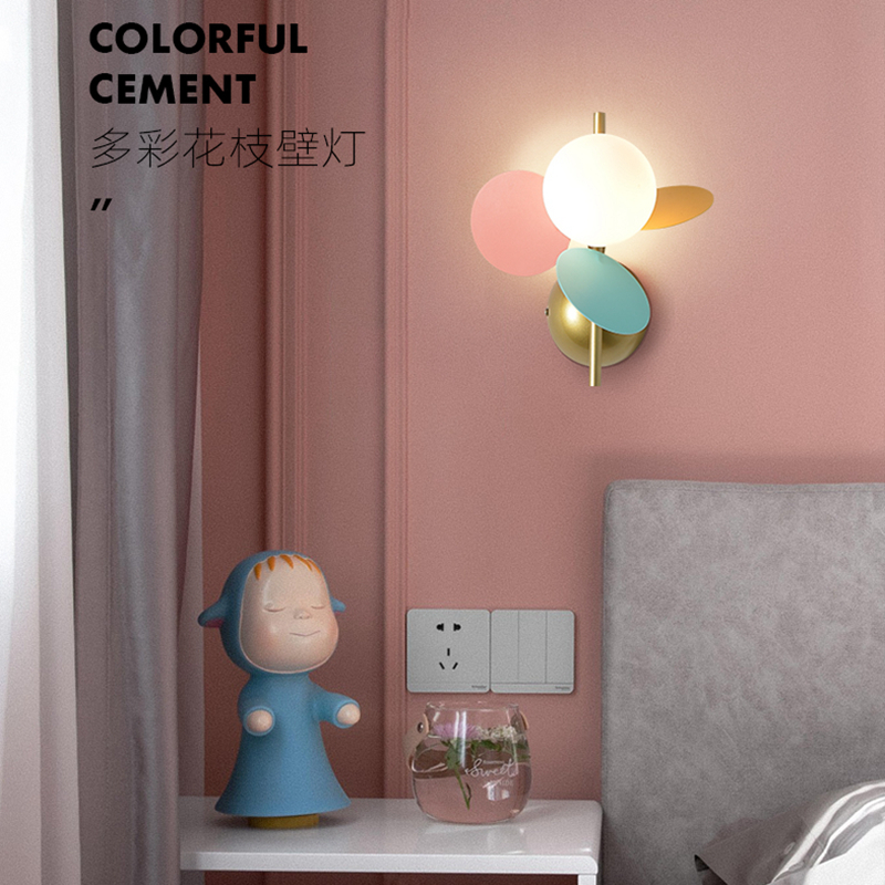 contratada moderna sala de criancas lampada parede nordic quarto lampada cabeceira moderno contratado hotel corredor luz