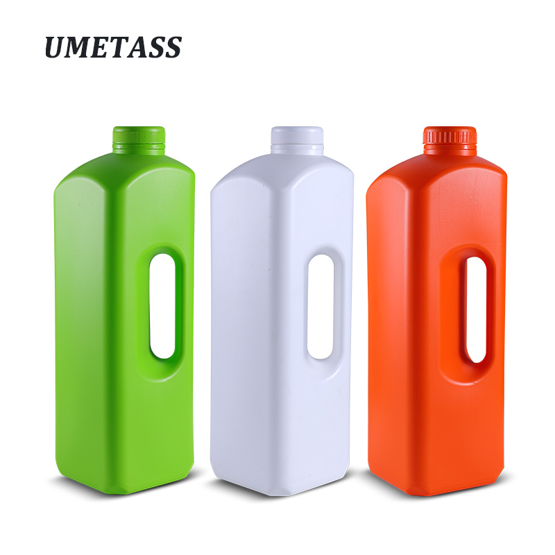 1800ML Empty Plastic Bottle With Lid Food Liquid Storage Container BPA Free Refillable Bottle 1 Piece