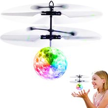 Flying-Ball-Toys Crystal-Ball Remote-Controll Aircraft Induction Girls Kids Quadrocopter