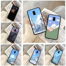 Capa de telefone paisagem para huawei p9 p10 p20 p30 p40 lite por psmart 2019