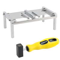 2.5 3.5 HDD Hard Drive Table Fixture+Magnetic Extractor Working Tool Kit For Hard Disk Repair Data Recovery