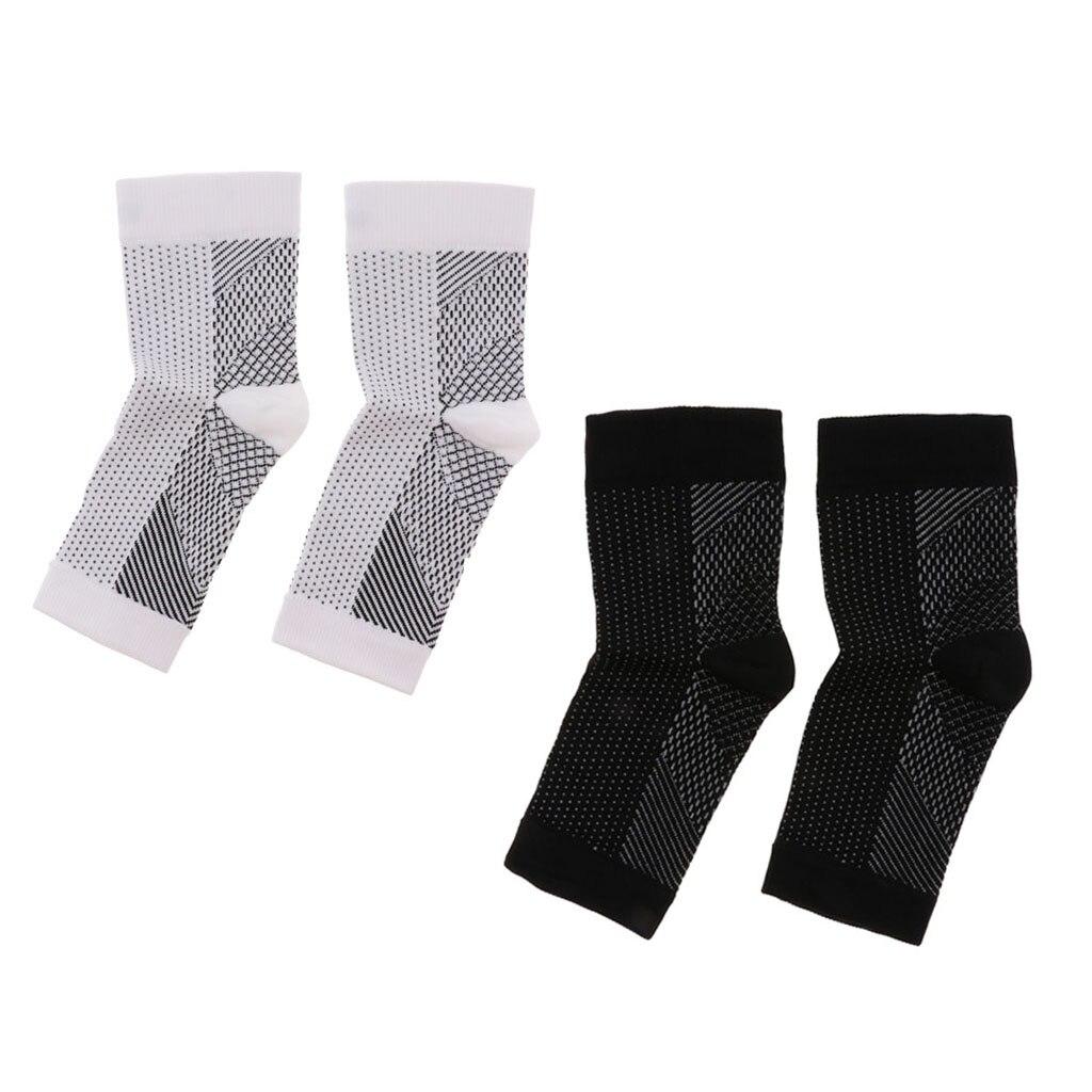 2x Compression Arch Support Socks Heel Spurs Plantar Fasciitis Foot Sleeves Men Compression Harajuku Long Socks Mens Dress Sock