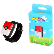 Auto Catch Pokemon Bracelet For Pokemon Go Plus Bluetooth Rechargeable Square Bracelet Wristband Bracelet Device for Android IOS