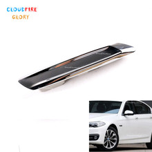 CloudFireGlory 51137336645 51137336646 Left Or Right Front Exterior Fender Molding Panel Trim Cover For BMW F10 Sedan 2013 2016