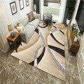 Современный простой Nordic ковер гостиная прикроватный коврик для спальни коврик Nordic ins в виде геометрических фигур Бытовая ковер