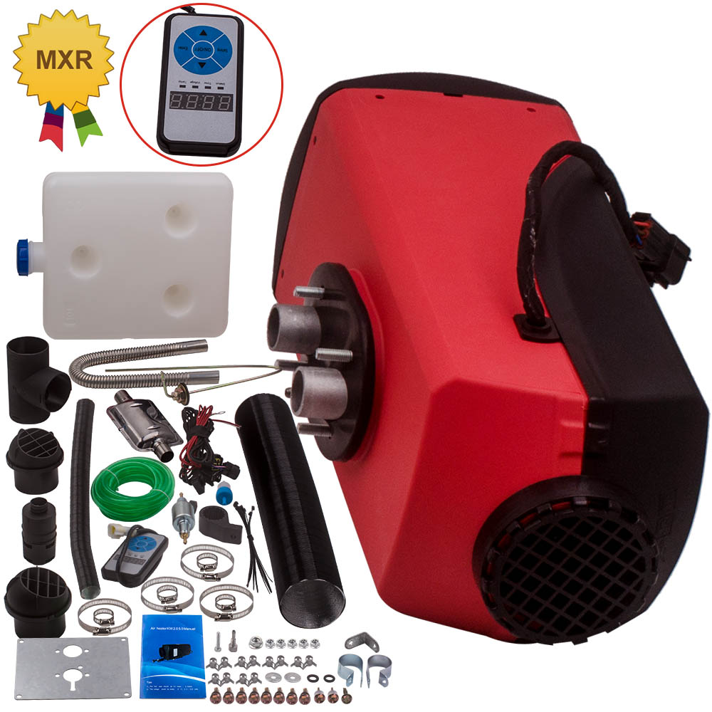 maXpeedingrods 12V 5KW Diesel Air Heater 10L Tank LCD Switch Monitor Universal for Boat Van Truck Pickup Bus