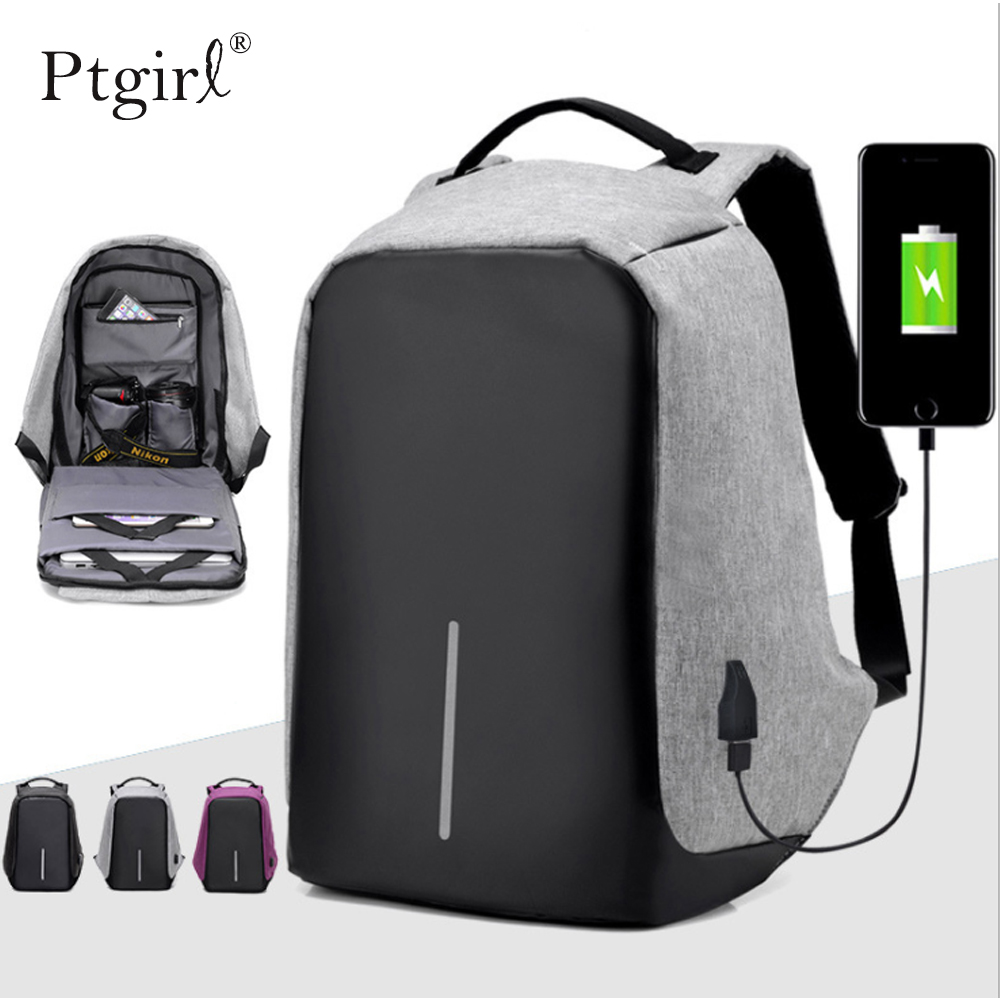 Brand Backpack Anti-theft Waterproof <font><b>Bag</b></font> 15.6 <font><b>Inch</b></font> <font><b>Laptop</b></font> Notebook Mochila Male FemaleBack Pack Backbag School Backpack teenager image