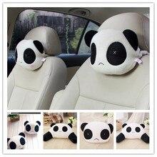 Автомобильная подушка для шеи, новая Автомобильная подушка для головы с пандой, подголовник с памятью, Автомобильная подушка для шеи, подушка для автомобильного сиденья, расслабляющая защита, автомобильные принадлежности