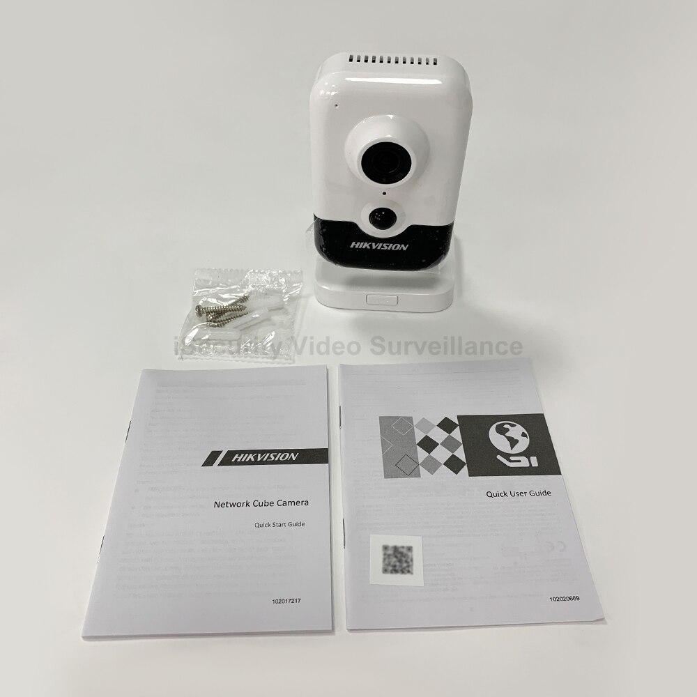 La version anglaise originale 4MP IR Cube réseau caméra DS-2CD2443G0-IW remplacer DS-2CD2442FWD-IW CCTV IP wifi IPC 3