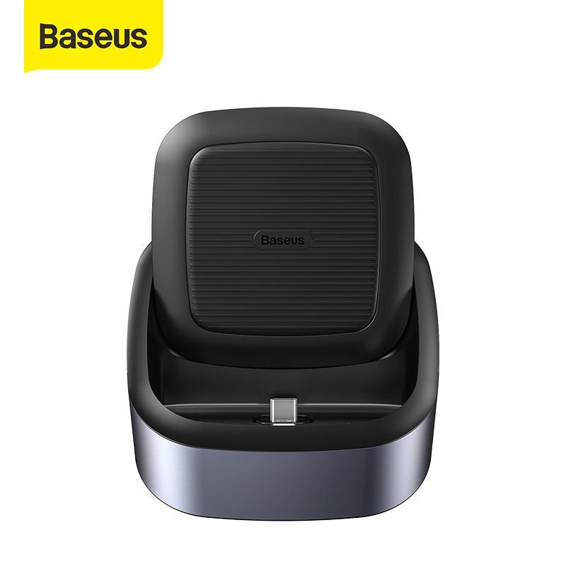 Baseus USB C Dex Station To USB 3.0 HDMI USB HUB For Huawei P20 P30 Pro Samsung S10 Docking Station 8 USB Ports USB Type-C HUB