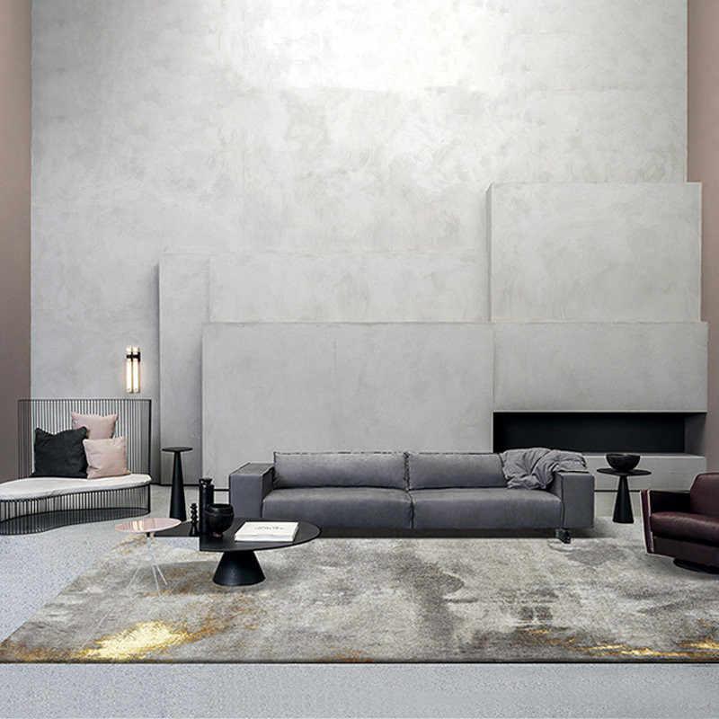 Post Modern Carpet Living Room Light Luxury Gray Bedroom Carpet Sofa Coffee Table Rug Thick Study Room Floor Mat Cloakroom Rugs Carpet Aliexpress