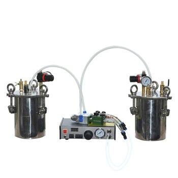 Новый двухжидкий автоматический диспенсер AB Клей разливочная машина Двойное действие наперсток стиль пропорции регулируемый