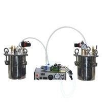 새로운 2 액체 자동 디스펜서 AB 접착제 충전 기계 더블 액션 골무 스타일 비율 조절 가능