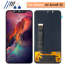 """Super Amoled lcd For 5.88"""" Xiaomi Mi8 SE Mi 8 SE MI8SE Screen Display Touch Screen Digitizer with Frame replacement Mi 8 se Lcd"""