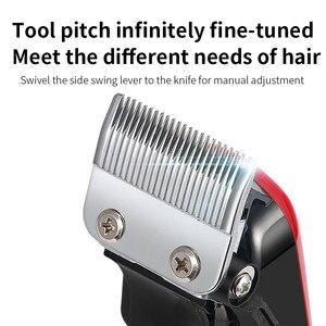 Image 3 - Kemei 2611 Professionelle Barber Haar Clipper Leistungsstarke Maschine Haar Trimmer Für Männer Elektrische Cutter 9W Haar Schneiden Maschine 2611