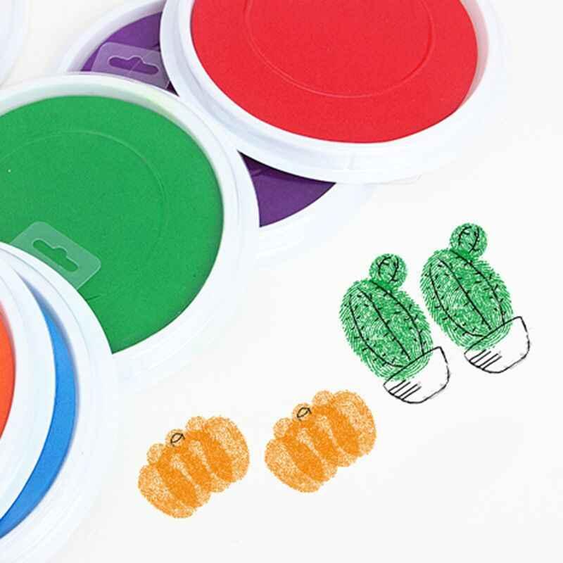 ปลอดสารพิษ handprint footprint ของที่ระลึก Baby Care ลายเซ็นมือหล่อชุดทารกแรกเกิด inkless หมึก pad ทารกของเล่นเด็กของขวัญ
