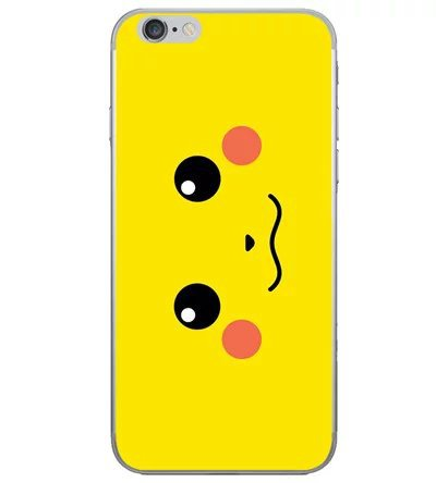 Kawaii Cartoon Pockets Monsters Pokemons Cover Case For coque iPhone X XS Max XR 8 7 6s 6 7 Plus soft Silicon cute phone cases in Fitted Cases from Cellphones Telecommunications