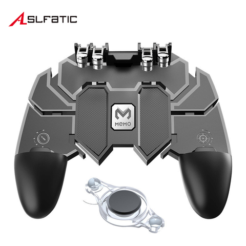 Ak66 Pubg Mobile Controller Gamepad Gaming Phone Pupg Triggers Free Fire Pugb Mobile Joystick Control For iOS Android Smartphone Pakistan