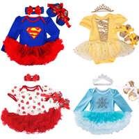 Bebê recém-nascido vestidos da menina bandana sapatos conjunto infantil crianças conjuntos de roupas meninas tutu crianças vestir verão manga curta