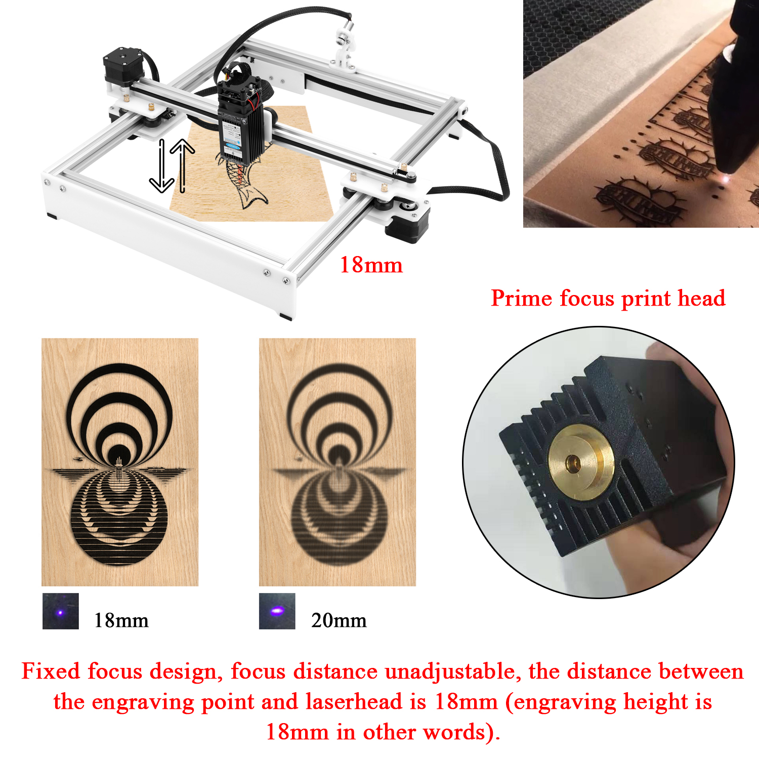 CNC Laser Engraving Machine With Offline Control for Logo Marking 2