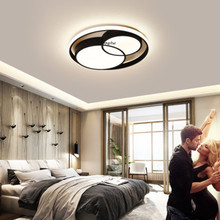 Nordic Round LED Ceiling Lights Lighting Nordic Splice Decor Modern Living Room Restaurant Child Bedroom Study Bar Light Fixture