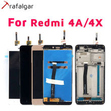 ترافالغار LCD ل شاومي Redmi 4A LCD عرض Redmi 4X عرض تعمل باللمس ل شاومي Redmi 4A عرض مع الإطار الهاتف استبدال