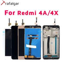 Xiaomi Redmi 4A LCD 디스플레이 용 트라팔가 LCD Xiaomi Redmi 4A 디스플레이 용 Redmi 4X 디스플레이 터치 스크린 프레임 전화 교체