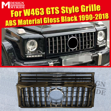 W463 Grille GT Grills Fit For MercedesMB G Class Sports G500 G550 1:1 Replacement Front Without sign ABS Black 1990-2018