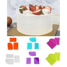 Scraper Fondant-Tools Cake-Pasty Tooth-Shape Bread-Cutter Baking Plastic Kitchen DIY