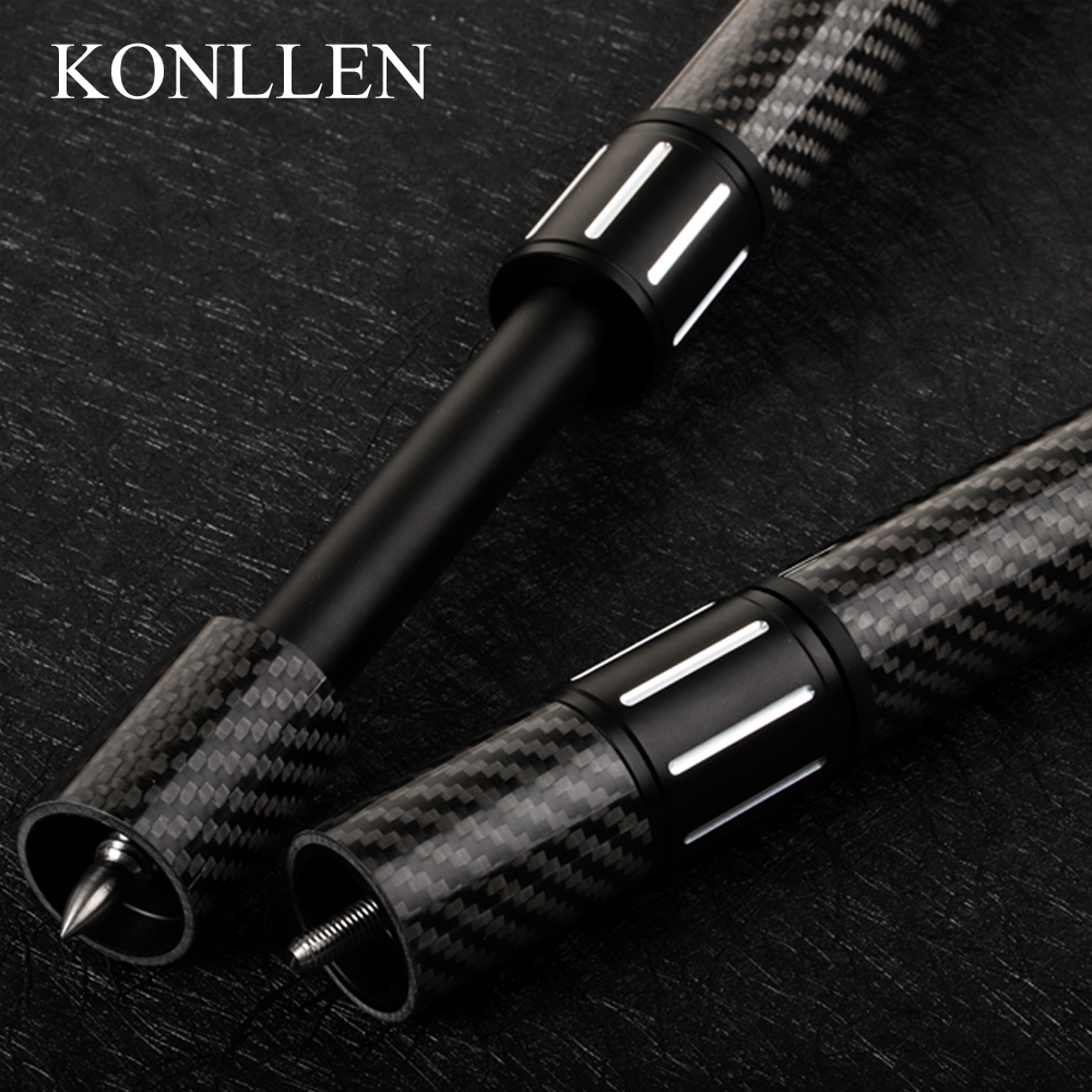 Billard Extendable Extension 1 Pcs Black Carbon Fiber Aluminum Alloy For MEZZ/ZOKUE/FURY/PREDAIOR Billiard Accessories
