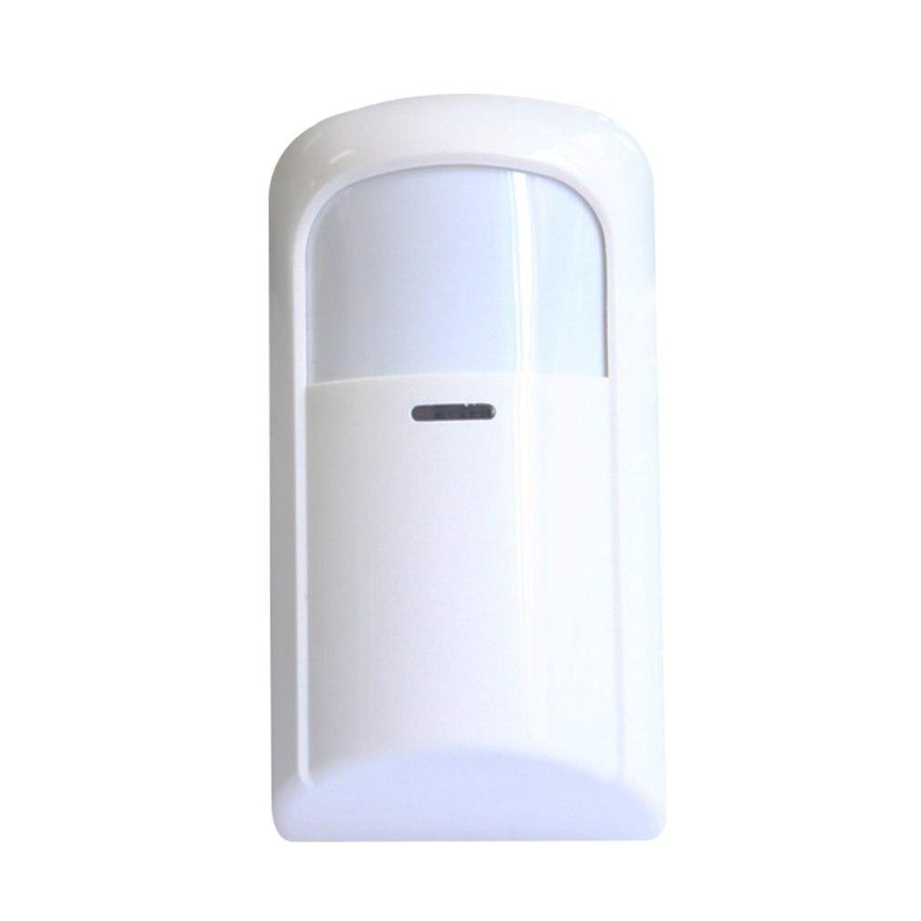 DC Wireless Passive Infrared Detector 433MHz Wide Angle PIR Motion Sensor Alarm Systems Home Security Burglar Alarm