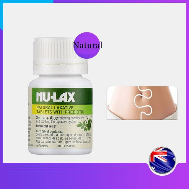 NuLax Natural Laxative 40Tablets with Prebiotic Senna Aloe Constipation Treatment Overnight Relief Stimulating Bowel Evacuation 4