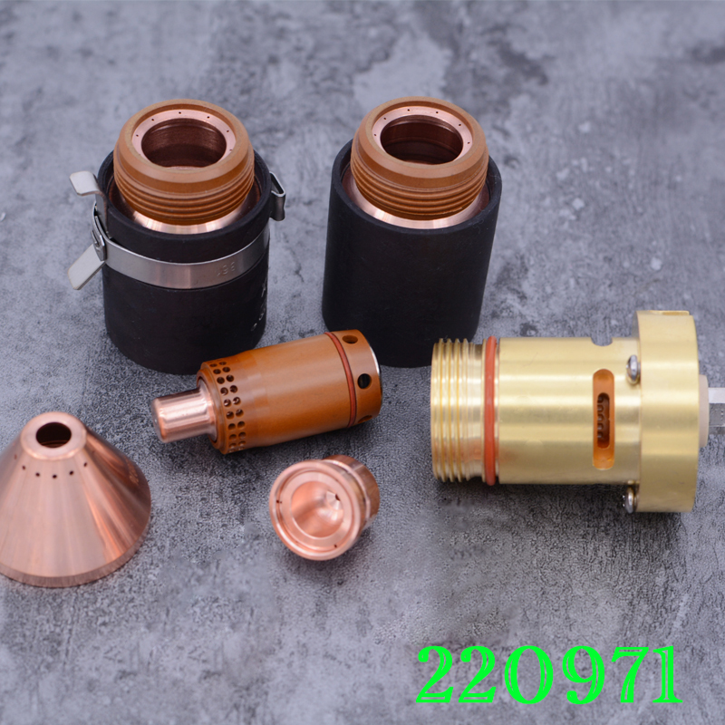 220971 Electrode 220975 Nozzle Plasma Cutting Consumable For 125A 220976 420169 220977 420156 220997