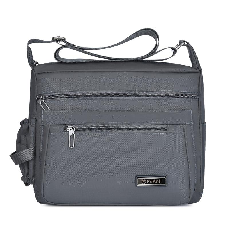 Travel Shoulder Bag Canvas Casual Tote Crossbody Outdoor Bags Mens Travel School Retro Zipper Top-handle Bag