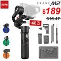 ZHIYUN Crane M2 3-осевая карманная разных цветов с шарнирным соединением для смартфона с стабилизатор для смартфонов компактный беззеркальных кам...