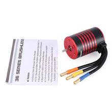 Brushless Motor Car part GTSKYTENRC 2435 2838 3650 KK Series Motor 4500kv/4800kv/5200kv 2s For 1/16 1/18 RC Crawler Car Motor(China)